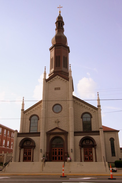 St. Mary of the Annunciation Church - New Albany, IN