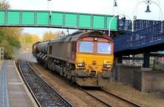 EWS / DB Cargo 66169 - Mansfield (the mother '66' 66001) Tags: ews dbschenker dbcargo class66 robinhoodline mansfield nottinghamshire rhtt railways mansfieldwoodhouse 66169