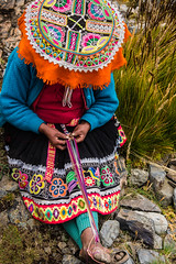 Peru, Qoyllur'iti pilgrimage near Cusco. (David Ducoin) Tags: america andes catholic christian corwd crowd cusco ducoindavid festival holy mountain moutain peru pilgrimage qoylluriti religion sacred sinakara sincretism southamerica weaving cuzco pe