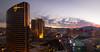 Las Vegas Sunset - Explore (Ron Drew) Tags: nikon d850 sunset nevada lasvegas thestrip resorts casino hotels sky clouds lights mountains lasvegasblvd outside