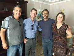 Visita na residência do Sr Paulo e Sra Cristina knabbe da Vila Enoe no Abranches