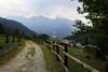 Val d'Aosta - Valle di Champdepraz, tornando dal lago della Servaz, la Voella (mariagraziaschiapparelli) Tags: valdaosta valledichampdepraz parcodelmontavic montavic lagodellaservaz montagna mountain avic camminata escursionismo allegrisinasceosidiventa estate lago
