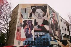 Back of 2425 Quebec Street (Mariko Ishikawa) Tags: canada britishcolumbia vancouver mountpleasant mural art streetart publicart