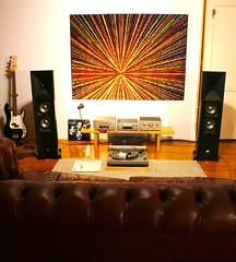 JBL Studio 580 (Ice&Snow Shop) Tags: teac reference series 500 ah500 rh500 pdh500 yamaha p1600 power amp pro amplifier jbl studio 580 5 technics sl1500 turntable speakers audio audiophile stereo hifi listening space vinyl 12 vintage records