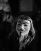 Million Mask March (DaveWilliams) Tags: anonymous demo guy fawkes v vendetta november 5th trafalgar square bnw bw mono monochrome