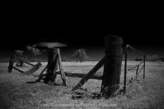 the old way.. (Rob Valentic - Gondwana Reptile Productions) Tags: infrared straya outbackqueensland abandonedstationgates historicruralaustralia desert channelcountry robvalentic australianlandscape flektogon m42oncanoneos m42adaptereos oldlensnewcamera madeingdr germanglass czj flekto ilovemyflektogon 3524 m42carlzeissjenaflektogon3524 bokehofvintageprimes canoneos5dmark3 shoot24 shootwideopen vintagelens vintagelensgroup