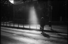 "earth angel ""Angyalföld"" (Arpadkoos) Tags: earthangel angyalföld morning people city sun sunlight zorki zorki10 blackandwhite monochrome 35mm"