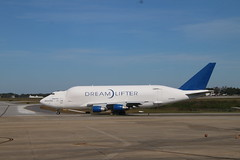 152/365/3439 (November 10, 2017) - Boeing Dreamlifter Leaving Charleston International Airport (Charleston, S.C.) - Friday November 10, 2017