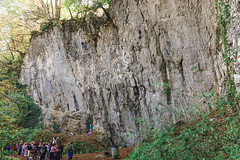 Verd, climbing cliffs (rlubej) Tags: notranjska people rocks sports