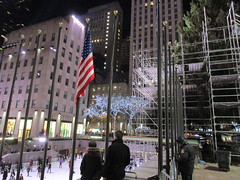 2017 Christmas Tree Rockefeller Center NYC 3645 (Brechtbug) Tags: 2017 christmas tree rockefeller center before lights 11112017 nyc 30 rock new york city standing up above ice rink with snow shoveling workers skating holiday decoration ornaments night lites light oversize load ornament prometheus gold mythological statue sculpture fountain fountains scaffolding scaffold pre thanksgiving