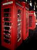 Forgotten Words (Douguerreotype) Tags: london gb red uk iphone 4 british street city britain urban telephone historic england