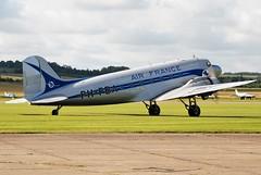 DC-3 PH-PBA in Air France Colours (craigmartin787) Tags: duxford warbird flying legends dc3 phpba dutch dakota association air france iwm aviation
