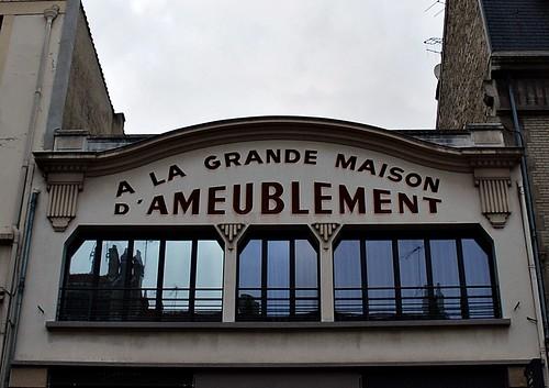 9 - Reims - Rue du Cadran Saint-Pierre - A la grande maison d'ameublement