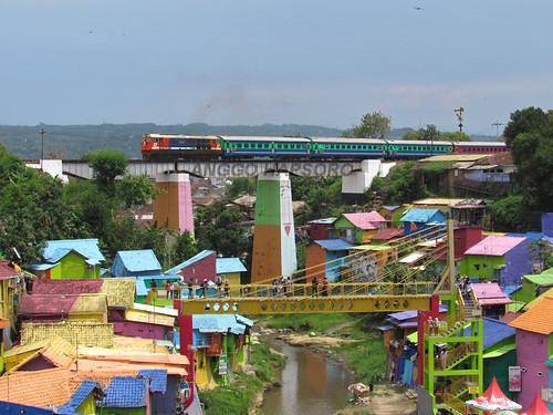 Warna-warni Kota Malang dan Kereta Api
