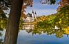 Schloss Blankenhain  (2) (berndtolksdorf1) Tags: deutschland sachsen blankenhain schloss jahreszeit herbst wasser laub bunt outdoor