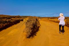 Road to the green sand beach (seekjim20) Tags: fujix100s hawaii naalehu unitedstates us sand