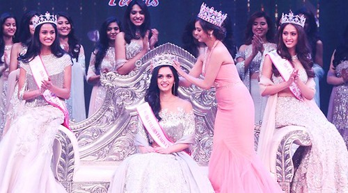 Manushi Chhillar wins Beauty with a Purpose at Miss World  #Blog