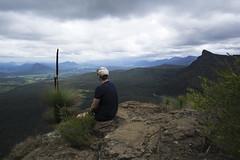 Exploring Mt Cordeaux (jaimilee.beale) Tags: mt cordeaux summit bushland walking hike mountain range great dividing landscape