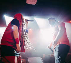 Face to face (Olaf Donnerski) Tags: concert first rage french rap métal lourd rock night france