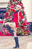 Christmas Cammy by Megan Coffey - Starbuxx Holiday Matsuri 2016 Street Fighter Cosplay (WhiteDesertSun) Tags: megan coffey cosplay holiday matsuri vacation con convention florida alligators worst girl christmas apocalypse stree fighter red tree starbunns hat presents bokeh