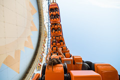 California Screamin' (orlandobrothas) Tags: disneyscaliforniaadventure californiascreamin rollercoaster paradisepier anaheim california themepark disneyland day nikond500 tamron