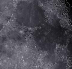 Serenitatis et Tranquillitatis Maria (3x2 mosaic) 2017-12-06 (Carballada) Tags: moon astrophotography astronomy deep space astro celestron zwo as1600mmc skywatcher gso rc10 sky qhy qhy5iii174