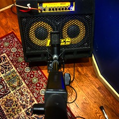 🎤 Slide (Pennan_Brae) Tags: guitaramplifier guitaramp recordingsession recordingstudio musicstudio recording amplifier amp bassamp bassamplifier microphone
