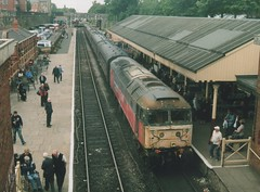 "Withdrawn Condition Rail Express Systems Liveried Class 47/7, 47765 (37190 ""Dalzell"") Tags: res railexpresssystems stored withdrawn scrap railnet brush sulzer type4 duff spoon class47 class477 47765 47631 47059 d1643 ressaldar dieselgala elr eastlancashirerailway boltonstreet bury"