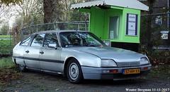 Citroën CX 22 TRS 1987 (XBXG) Tags: 57hhxx citroën cx 22 trs 1987 citroëncx bodegraven nederland holland netherlands paysbas vintage old classic french car auto automobile voiture ancienne française vehicle outdoor