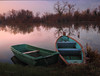 to be rocked by the Infinite (cherryspicks (off)) Tags: zagreb savica water lake evening light boat landscape croatia autumn grass wood scenery