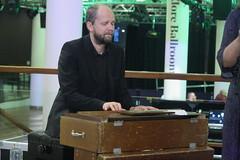 Triakel (2017) 08 - Janne Strömstedt (KM's Live Music shots) Tags: worldmusic sweden traditionalswedishmusic triakel harmoniumwestern harmoniumwithfootpedals harmonium reedorgan nordicmatters fridaytonic southbankcentre