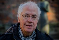 Portrait of the author Hans Lundin (frankmh) Tags: portrait author hanslundin helsingborg skåne sweden outdoor