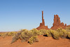 Totem Pole butte (gorbould) Tags: 2017 monumentvalley navajotribalpark usa utah america butte buttes southwest totempole
