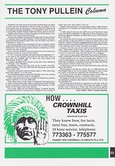 Plymouth Argyle vs Blackburn Rovers - 1991 - Page 23 (The Sky Strikers) Tags: plymouth argyle blackburn rovers barclays league division two home park programme one pound