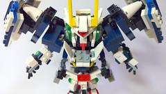 LEGO SD 00 Raiser GN-0000 (demon14082001) Tags: lego gundam frame iron technic bionicle hero factory brick robot mecha toy figure 00 gn setsuna sd bb đồ chơi