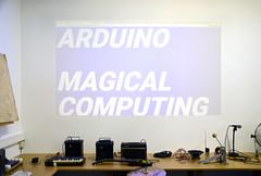 "Workshop Arduino : ""Magical Computing"" (Marc Wathieu) Tags: écolederecherchegraphique erg 2017 arduino workshop 20172018 brussels bruxelles art school artnum quadri1 quadri 1 newmedia artsnumériques"