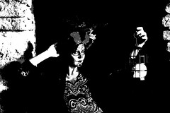 Cat #434 bw art (Az Skies Photography) Tags: october 21 2017 october212017 102117 10212017 day dead dayofthedead dia de los muertos diadelosmuertos model female femalemodel woman tumacacori arizona az tumacacoriaz national historical monument nationalhistoricalmonument canon eos 80d canoneos80d eos80d canon80d pictorialism cat modelcat pictorialisma