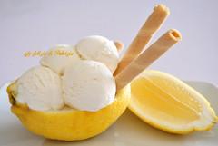 Gelato cremoso al limone (Le delizie di Patrizia) Tags: gelato cremoso al limone le delizie di patrizia ricette dolci dessert
