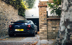 V12 Zag. (Alex Penfold) Tags: aston martin v12 vantage zagato blue supercars supercar super car cars autos alex penfold 2016 london