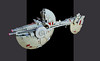 "Rebel repair ship ""Dauntless"" (Shannon Ocean) Tags: concept design rebels spaceship"