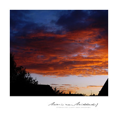 home (MvMiddendorf) Tags: sunset cologne autumn sonya6000 sky clouds