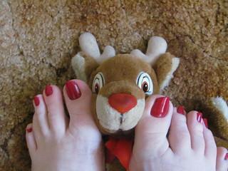 China Glaze   Seduce Me   With Rudolph