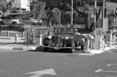 Arrival (Ilya.Bur) Tags: nikon fe nikkor 35105mm f3545 apx 100 caffenolcl citroen traction avant cabrio vintage classic car analog film bw homemadesoup