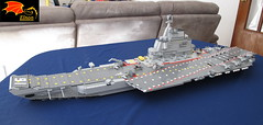 CV-16 Liaoning Carrier (Eínon) Tags: liaoning aircraft carrier cv16 lego varyag dalian kuznetsov class shenyang j15 russia soviet union cold war modern pacific