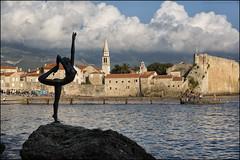 100 BUDVA (ninaiznaizena) Tags: budva montenegro crnagora balkaneak balkans europa gaztelua gotorlekua fortress hondartza beach itsasoa sea mediterraneo adriatikoa adriatic ninaiznaizena