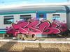 009 (en-ri) Tags: tsb crew biry rosa lilla fuxia ceno ronzer giallo train torino graffiti writing