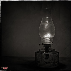 Day Three, Burning the Midnight Oil (MBates Foto) Tags: availablelight blackandwhite existinglight latern monochrome nikkorlense nikon nikond810 stilllife spokane washington unitedstates 99203 hdr