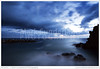 Twilight Seascape from Riomaggiore (© Mark Sunderland www.marksunderland.com) Tags: cinqueterre cinqueterrenationalpark coast dusk europe evening italy liguria liguriansea parconazionaledellecinqueterre riomaggiore sea seascape shore sunset tide travel twilight unescoworldheritagesite waves blue sky skyscape clouds cloudy stormy storm rocks rocky