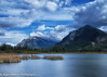 Vermilion Lake, Canada (ihoskins57) Tags: mountrundle ©nigelhoskinsphotography vermilionlake alberta mountains canada lake snow clouds banff ca