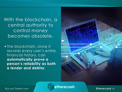 Blockchain Posed to Disrupt More than Just the Banking Industry | ICO | Cryptocurrency_11 (etherecash1) Tags: blockchain pos pointofsale cryptocurrency bitcoin fiat ico credit lending loans etherecash financialindustry banking banks